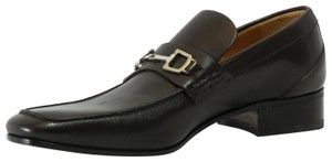 Gucci Men's 256345 Slip Ons Brown Formal