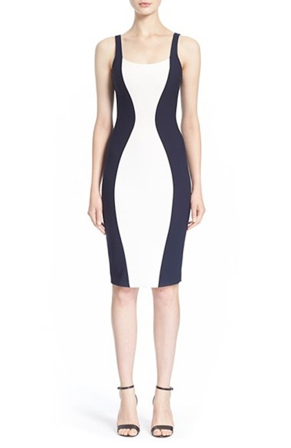 Preload https://img-static.tradesy.com/item/23332266/elizabeth-and-james-ivoryfrench-navy-ahana-sleeveless-two-tone-sheath-mid-length-cocktail-dress-size-0-0-650-650.jpg