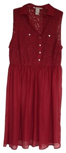 red Maxi Dress by American Rag