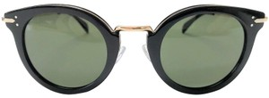 Céline CELINE CL41373/S ANW1E CL41373S 48MM BLACK GOLD / GREEN LENS NEW!