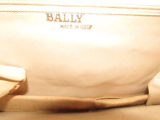 Bally Shoulder/Cross Body Mint Vintage Mod Color Block Look Two-way Style W/ Design Shoulder Bag