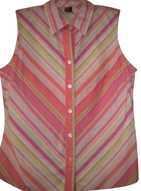 Preload https://item3.tradesy.com/images/autograph-multi-colored-women-large-tank-topcami-size-14-l-23332362-0-1.jpg?width=400&height=650