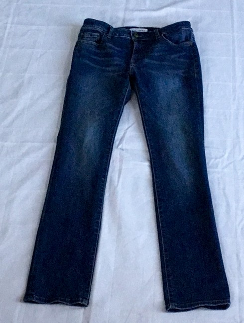 DL1961 Stretchy Straight Leg Jeans-Medium Wash