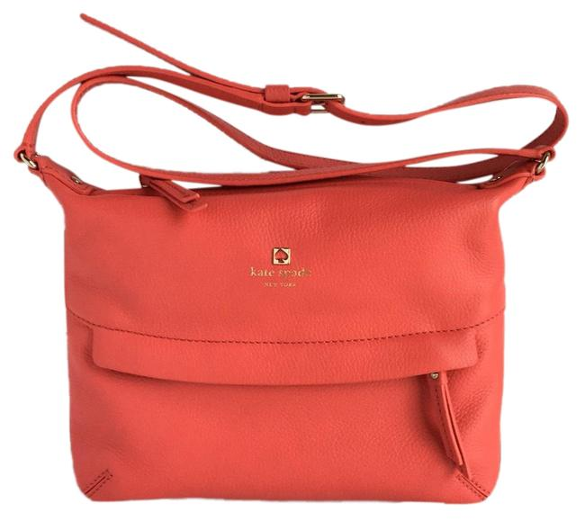 Kate Spade Grant Park Starla Purse Pink Leather Cross Body Bag Kate Spade Grant Park Starla Purse Pink Leather Cross Body Bag Image 1