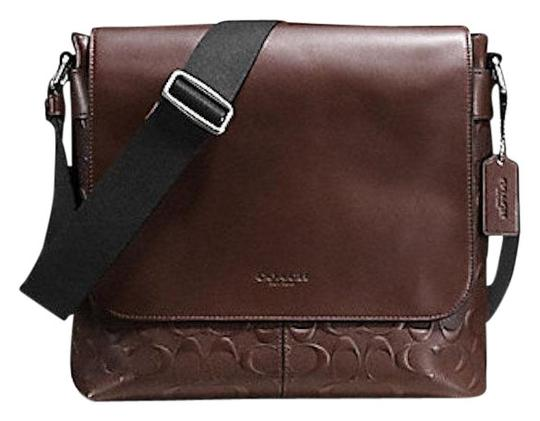Preload https://img-static.tradesy.com/item/23332386/coach-charles-small-signature-mahoghany-leather-messenger-bag-0-1-540-540.jpg