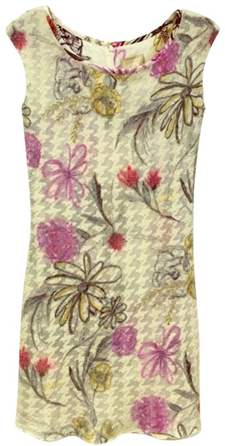 Preload https://item1.tradesy.com/images/st-john-white-purple-gray-yellow-red-floral-sequin-short-cocktail-dress-size-2-xs-23332410-0-1.jpg?width=400&height=650