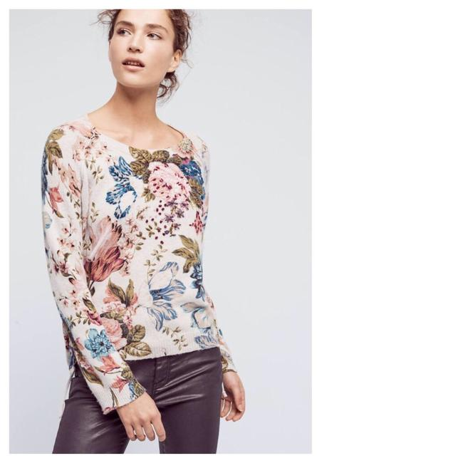 Preload https://item4.tradesy.com/images/anthropologie-angel-of-the-north-winter-bouquet-grey-sweater-23332413-0-0.jpg?width=400&height=650
