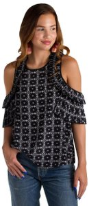 Delfi Collective Top Black/white