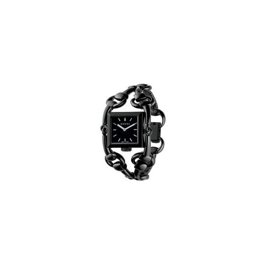 Gucci Gucci Signoria Black Stainless Steel 116 Black Dial Watch YA116310