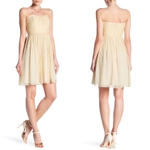 J.Crew Chiffon Spring Summer Boning Dress
