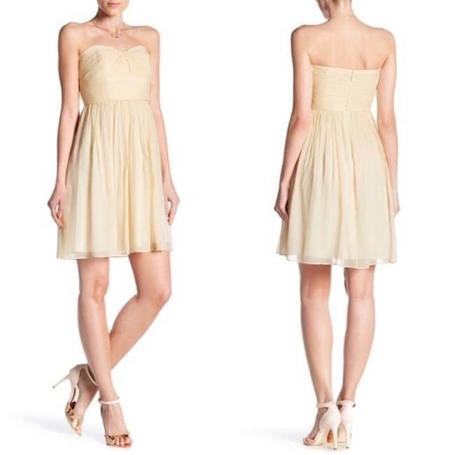 Preload https://img-static.tradesy.com/item/23332498/jcrew-champagne-marbella-in-silk-chiffon-short-cocktail-dress-size-0-xs-0-0-650-650.jpg