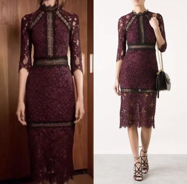 Alexis Midi Lace Formal Party Dress