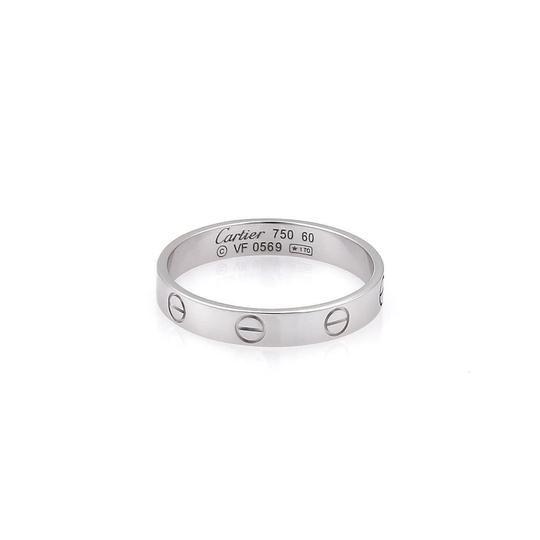 Preload https://item4.tradesy.com/images/cartier-mini-love-18k-white-gold-35mm-band-size-eu-60-us-9-wcert-ring-23332503-0-0.jpg?width=440&height=440