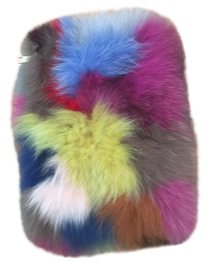 Preload https://item5.tradesy.com/images/colorful-fur-clutch-23332504-0-1.jpg?width=440&height=440