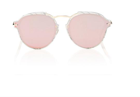Preload https://img-static.tradesy.com/item/23332518/dior-white-marble-with-gray-and-rosegold-lense-eclat-sunglasses-0-0-540-540.jpg