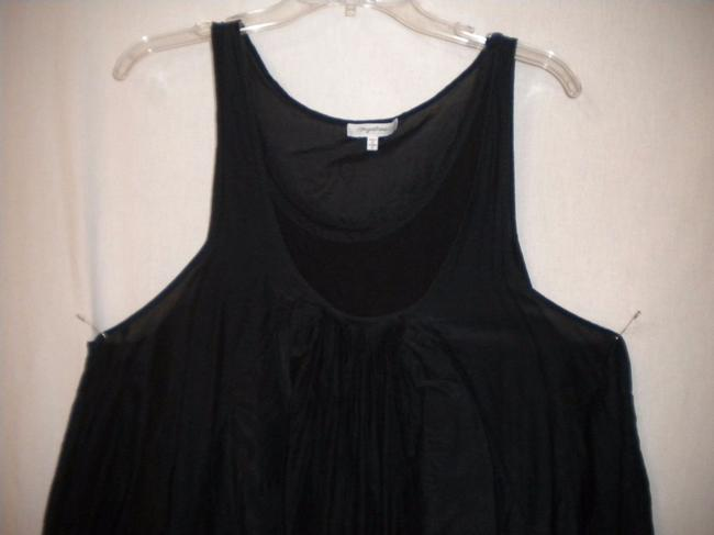 Anthropologie Boho Tunic Sleeveless Top Black