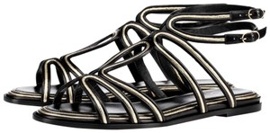Christian Louboutin Strappy Summer black Sandals