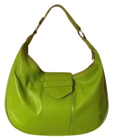 Preload https://item2.tradesy.com/images/maurizio-taiuti-purse-lime-green-leather-hobo-bag-23332571-0-1.jpg?width=440&height=440