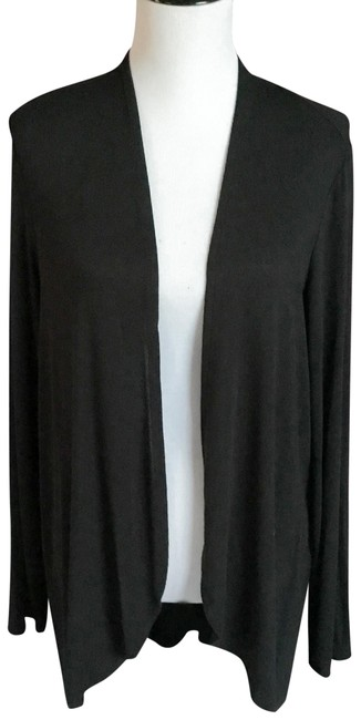 Preload https://item1.tradesy.com/images/black-stretch-rayon-knit-sweaterpullover-size-2-xs-23332595-0-1.jpg?width=400&height=650