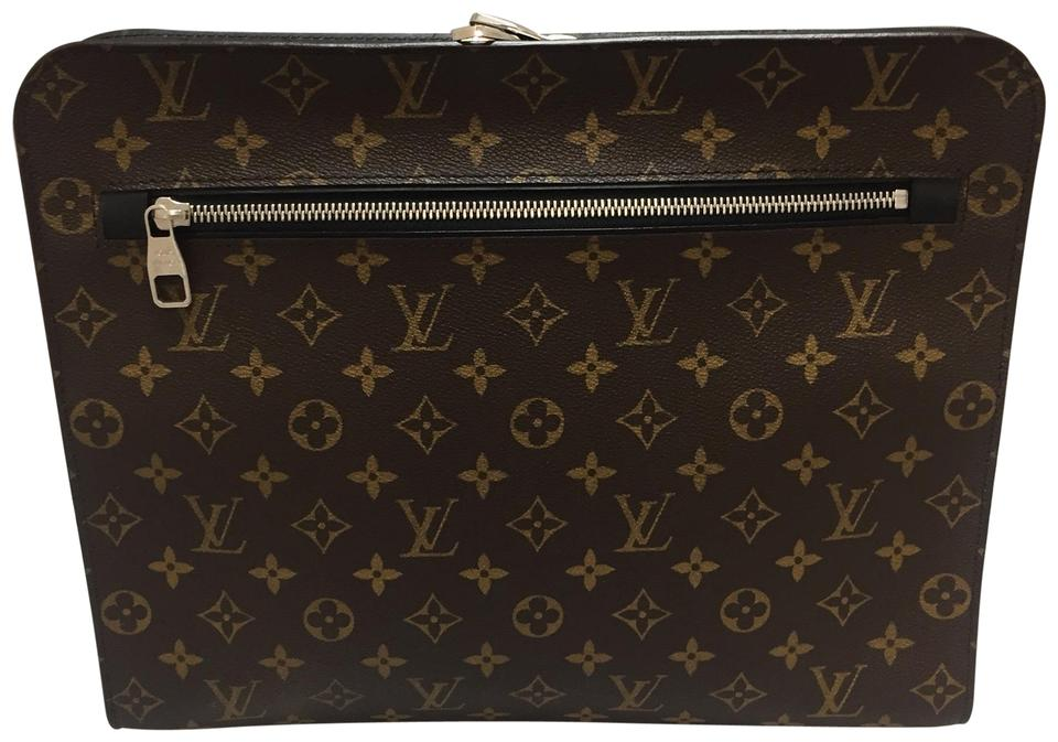 9ba5ea4f4204 Louis Vuitton Portfolio Macassar Document Holder Brown Monogram ...
