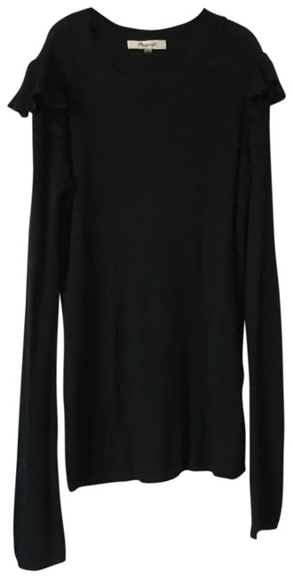 Preload https://item5.tradesy.com/images/madewell-black-sweaterpullover-size-0-xs-23332634-0-1.jpg?width=400&height=650