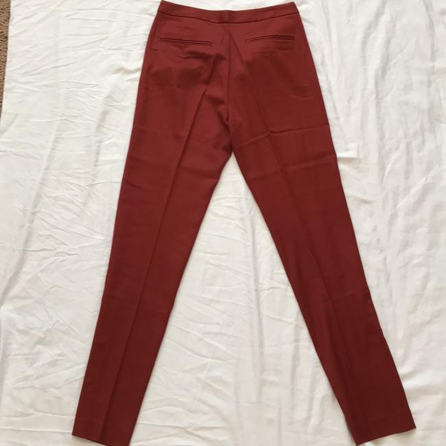 T by Alexander Wang Straight Pants Red-orange