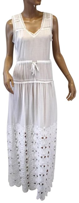 Preload https://item1.tradesy.com/images/twelfth-st-by-cynthia-vincent-white-long-casual-maxi-dress-size-6-s-23332645-0-1.jpg?width=400&height=650