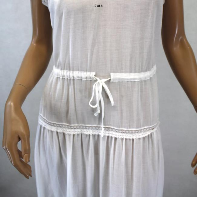 white Maxi Dress by Twelfth St. by Cynthia Vincent