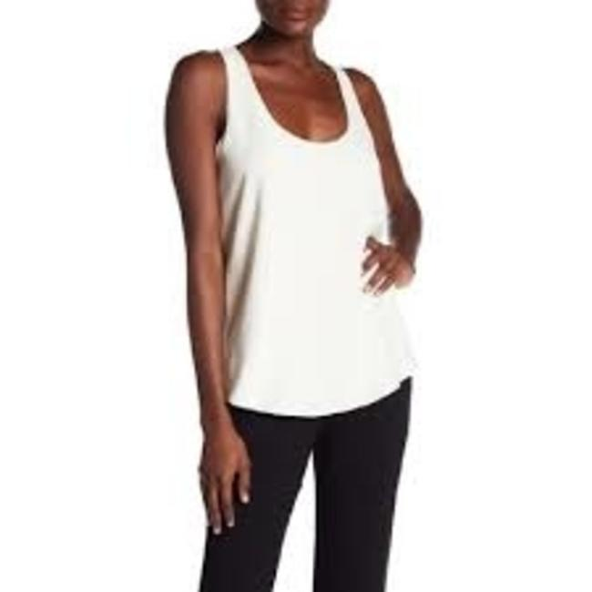 Theory Bintilra Knotted Back Tie Back Top Ivory