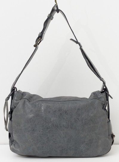 Balenciaga Flap Chevre Leather Shoulder Bag