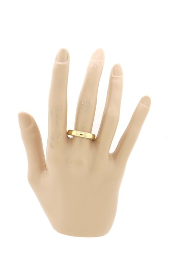 Tiffany & Co. Mens Tiffany & Co. 18k Yellow Gold 4mm Wide Classic Wedding Band Ring