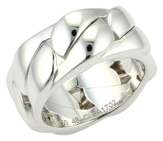 Preload https://item1.tradesy.com/images/cartier-18k-white-gold-curb-link-8mm-band-size-eu-48-us-475-with-cert-ring-23332720-0-1.jpg?width=440&height=440