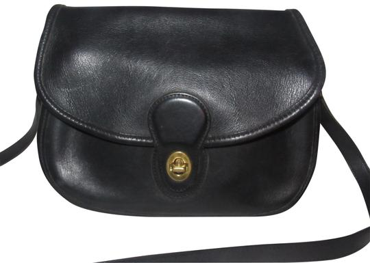 Preload https://item1.tradesy.com/images/coach-vintage-pursesdesigner-purses-black-buttery-soft-leather-and-brass-hardware-cross-body-bag-23332725-0-1.jpg?width=440&height=440