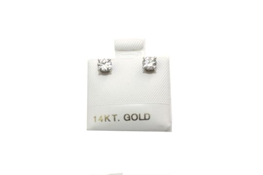 Preload https://img-static.tradesy.com/item/23332729/white-gold-diamond-stud-earrings-0-1-540-540.jpg