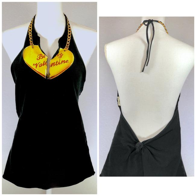Preload https://item1.tradesy.com/images/chloe-black-yellow-red-be-my-valentine-graphic-halter-top-size-6-s-23332735-0-0.jpg?width=400&height=650