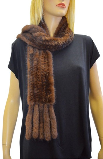 Preload https://img-static.tradesy.com/item/23332747/brown-designer-genuine-female-mink-rectangle-shawlscarves-eb-scarfwrap-0-1-540-540.jpg