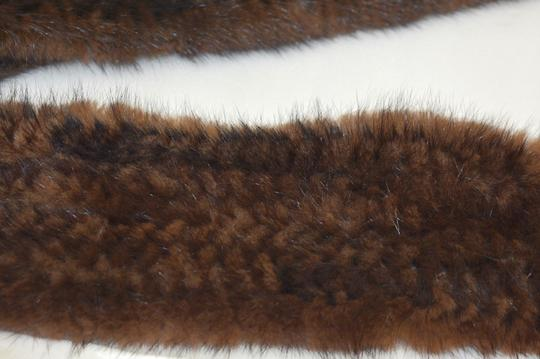 UNBRANDED Designer genuine Brown Female Mink Rectangle Shawl/Scarves On Sale EB