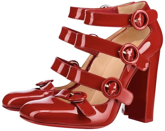 Preload https://img-static.tradesy.com/item/23332748/christian-louboutin-red-100-mistiroir-patent-strappy-mary-jane-a691-pumps-size-eu-41-approx-us-11-re-0-1-540-540.jpg