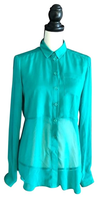 Preload https://item1.tradesy.com/images/free-people-green-best-of-both-worlds-sheer-panel-shirt-button-down-top-size-2-xs-23332750-0-1.jpg?width=400&height=650