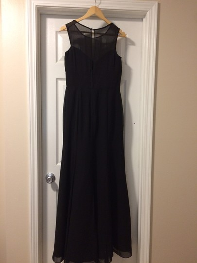 Preload https://img-static.tradesy.com/item/23332758/bari-jay-black-chiffon-1462-formal-bridesmaidmob-dress-size-8-m-0-0-540-540.jpg