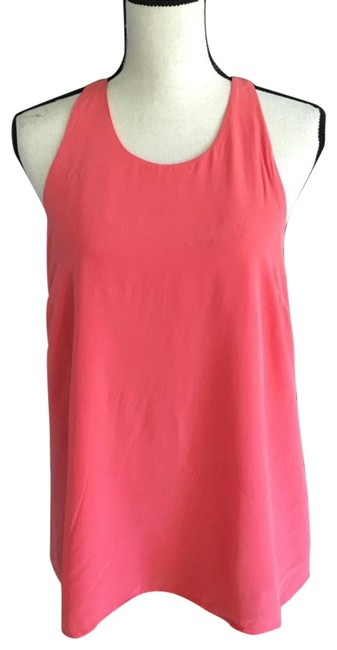 Preload https://item2.tradesy.com/images/joie-coral-silk-sleeveless-blouse-size-8-m-23332761-0-1.jpg?width=400&height=650