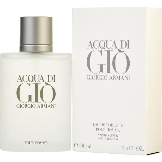Giorgio Armani Acqua di Gio for Men 3.4 oz/100 ml EDT Spray,New in box & Sealed.