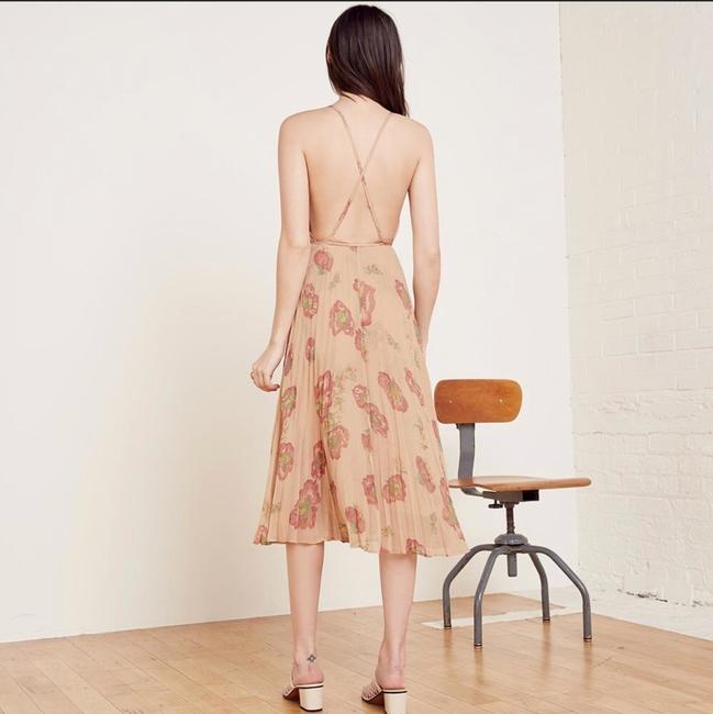 Cream, Red Maxi Dress by Reformation Image 2