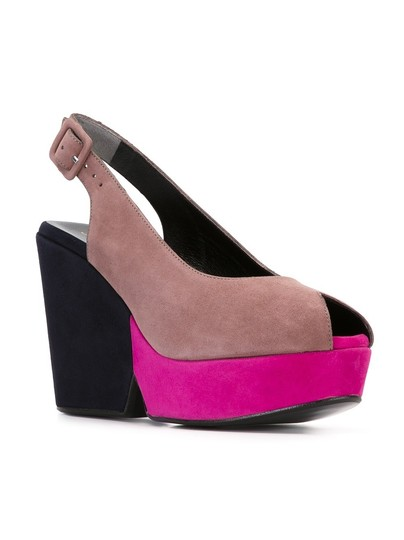 Robert Clergerie Multi-Colored Wedges