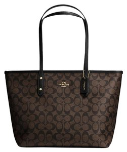 Coach Tote in Brown/Black - item med img