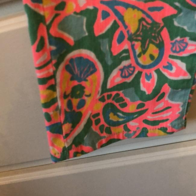 Lilly Pulitzer Straight Leg Jeans-Light Wash