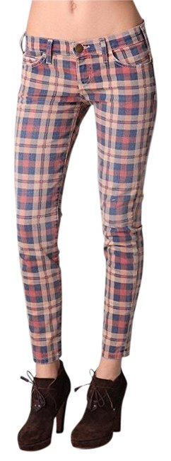 Preload https://item3.tradesy.com/images/currentelliott-plaid-the-stiletto-in-sanddollar-skinny-jeans-size-6-s-28-23332852-0-1.jpg?width=400&height=650