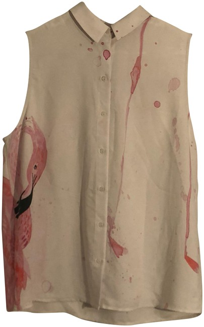 Preload https://img-static.tradesy.com/item/23332858/rachel-roy-flamingo-print-sleeveless-blouse-button-down-top-size-8-m-0-1-650-650.jpg