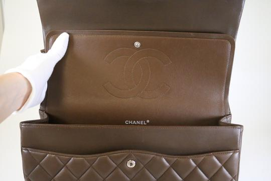 Chanel Maxi Double Flap Maxi Lambskin Maxi Shoulder Bag