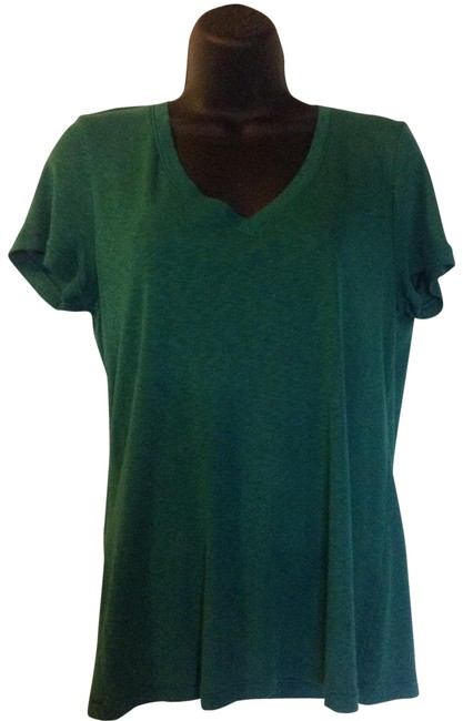 Three Dots T Shirt Green